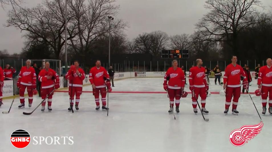 DETROIT RED WINGS ALUMNI UAW CLARK PARK G1NBC SPORTS
