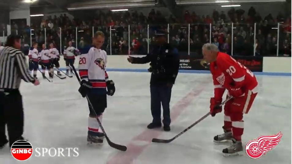 First Responded 140 ICE Den Detroit Red Wings Alumni G1NBC SPORTS