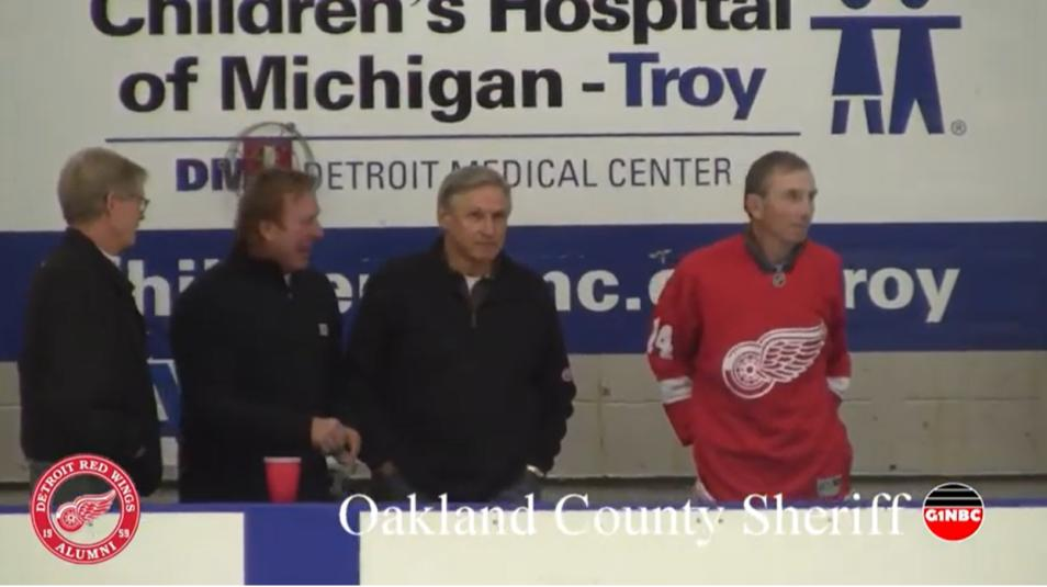Oakland County Sheriff Detroit Red Wings Alumni G1NBC Sports