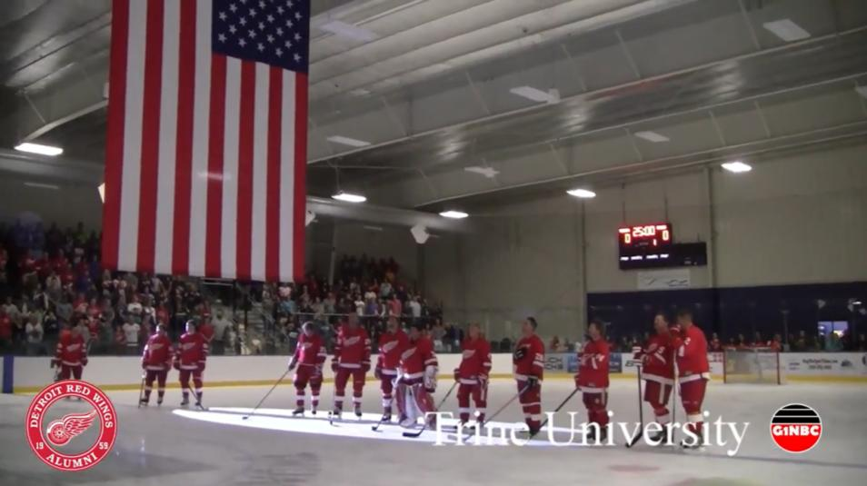 Trine University Detroit Red Wings Alumni G1NBC Sports